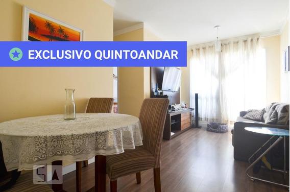 Apartamento No 2º Andar Com 2 Dormitórios E 1 Garagem - Id: 892973847 - 273847