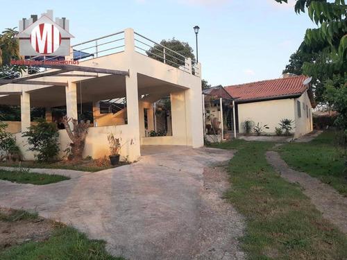 Imagem 1 de 25 de Chácara Deslumbrante, 03 Dormitórios, Linda Vista, Varanda Gourmet, À Venda, 1660 M² Por R$ 350.000 - Zona Rural - Pinhalzinho/sp - Ch0835