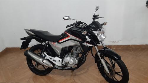 Honda Cg 160 Titan 2018 Preta