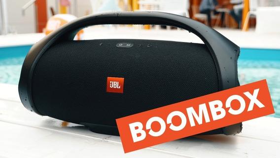 Jbl Boombox Com Bluetooth/usb/auxiliar Original Nf