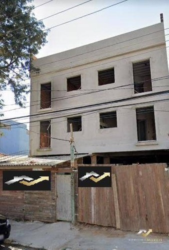 Cobertura Com 2 Dormitórios À Venda, 110 M² Por R$ 400.000 - Vila Assunção - Santo André/sp - Co0404