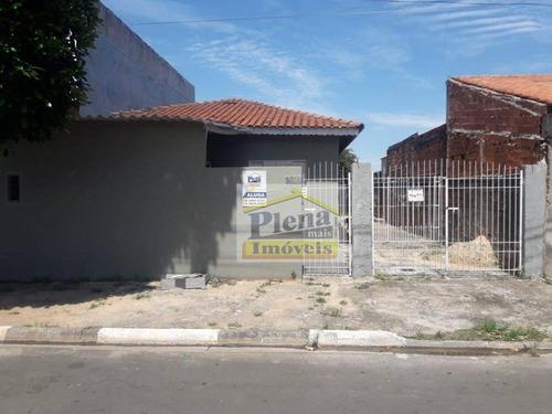 Casa Com 1 Dormitório Para Alugar, 60 M² Por R$ 700,00/mês - Jardim Amanda - Hortolândia/sp - Ca4538