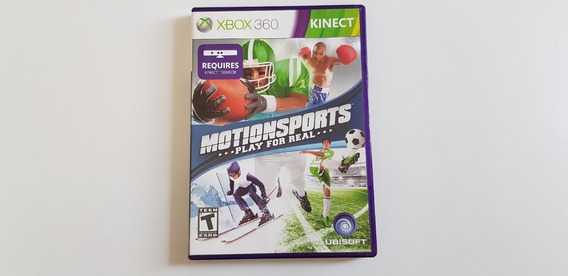 Jogo Motionsports: Play For Real - Xbox 360 Kinect