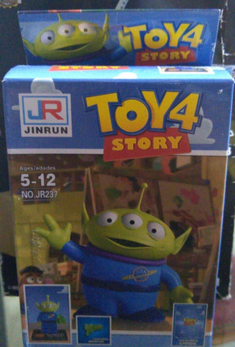 Simil Ladrillo Bloque Marciano Toy Story