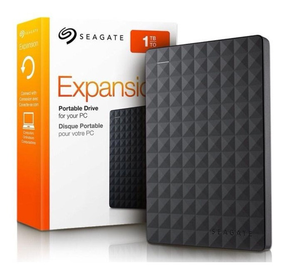 Hd Externo 1tb Seagate Expansion 1000gb Poetátil