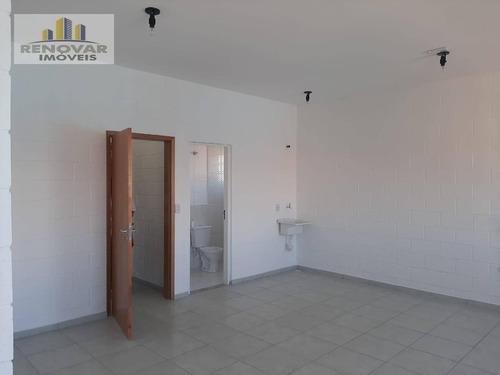 Salão Para Alugar, 40 M² Por R$ 1.500,00/mês - Alto Ipiranga - Mogi Das Cruzes/sp - Sl0027
