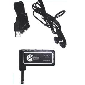 Mini Amplificador Custom Sound Cma-5 Fone De Ouvido Violão