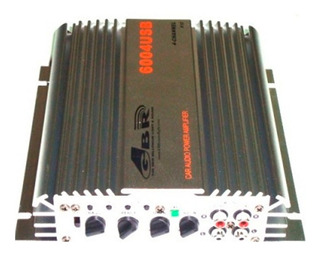 Potencia Compacta Gbr 6004 Reproductor Usb Graves Y Agudos