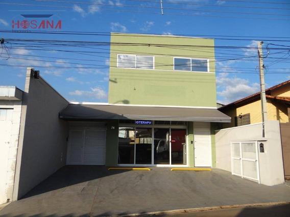 Salão Comercial Para Locação, Região Central, Caieiras. - Sl0014