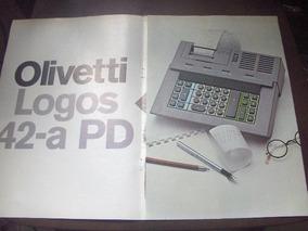 Folder Calculadora Olivetti Logos 42 A Pd
