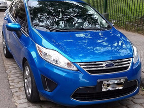 Ford Fiesta Kinetic Unico Dueño Impecable !