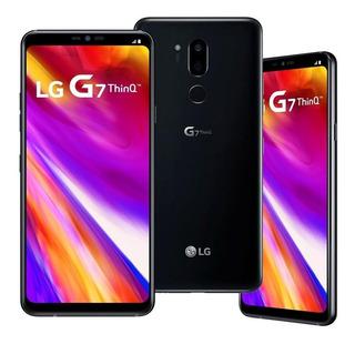 Celular Lg Thinq G7 G710 64gb Dual Chip Original - Vitrine