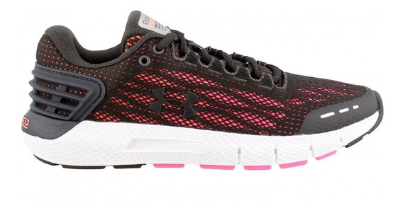 Zapatillas Under Armour Charged Rogue Mujer Running Negra