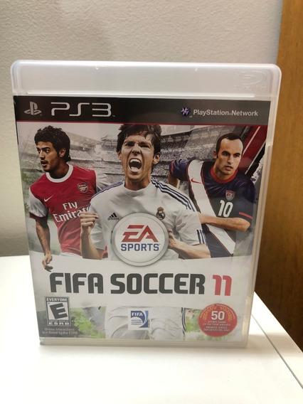 Fifa Soccer 11 - Ps3 - Mídia Física - Original