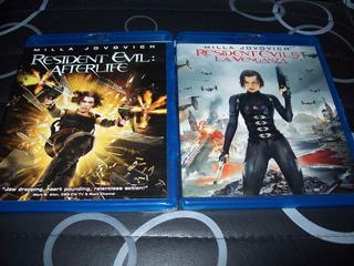 Lote Blu Ray Resident Evil 4 Y 5 Originales Accion
