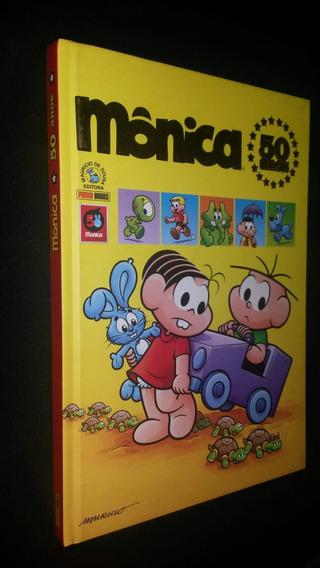 Mônica 50 Anos Capa Dura - Nova - Editora Panini