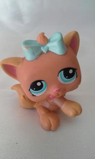 Littlest Pet Shop De 4 Cm. Lote De 5 Con Carrito De Hasbro.