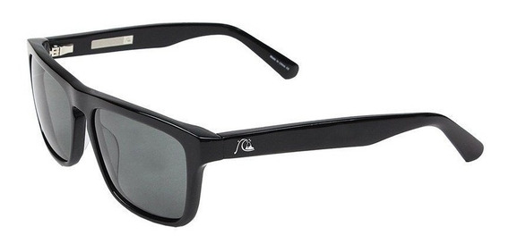 Óculos De Sol Quiksilver The Ferris M.o Shiny Black Grey