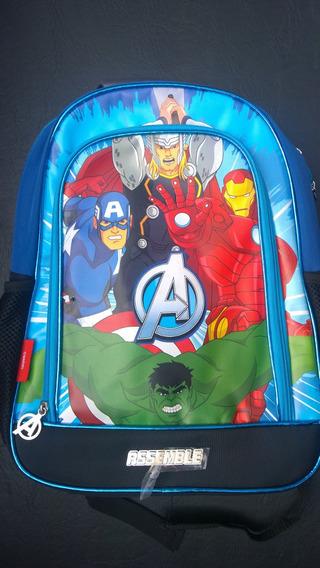 Avengers ..mochilas Originales... La Segunda Al 50%
