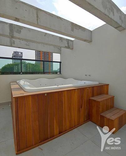 Imagem 1 de 15 de Ref.: 5210 - Cobertura Sem Condomínio Com Elevador ,03 Dormitórios Sendo 01 Suíte E 02 Vagas Na Vila Bastos  Santo André - Sp - 5210