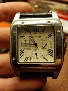 Reloj Cartier Santos 100 Automatico