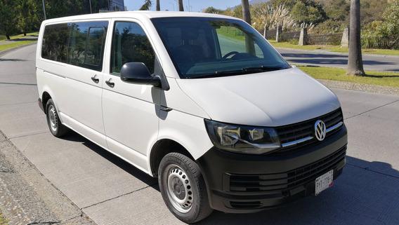 Volkswagen Transporter 2017 12 Pasajeros Aire Diesel Crédito