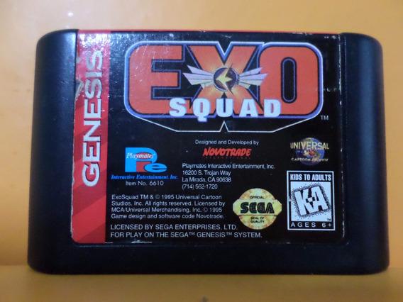 Exo Squad Original Mega Drive