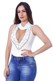 Body Feminino Zigma Anita Off-white