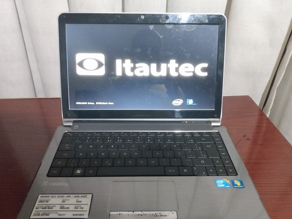Notebook Itautec W7435