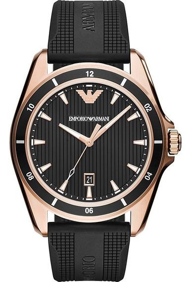 Reloj Análogo Marca Armani Modelo: Ar11101 Color Negro / Oro