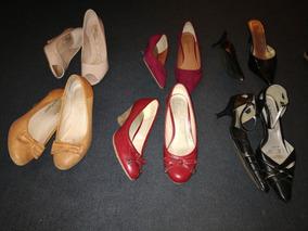 6 Pares De Zapatos Talla 38 Usados En Buen Estado