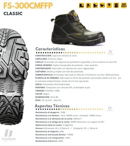 Botas De Seguridad Foot Safe Del 36 Al 45