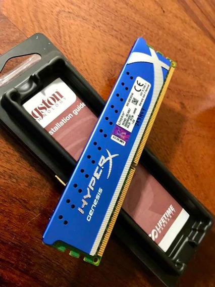 Memoria Ram 4gb Ddr3 1600gb Hyperx Génesis Inmaculada!