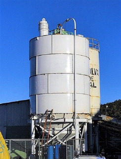 Silos Lisos Soldados Tanque Atornillable Storage Food Grade