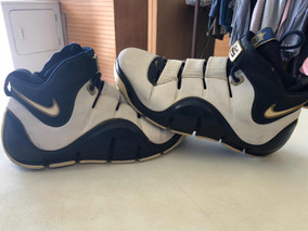 Nike Zoom Lebron Iv West Coast Navy Gold 8.5mx Jordan Kobe K