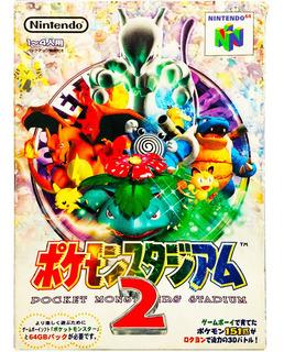 Pokemon Stadium 2 Japones N64 - Pocket Monsters Nintendo 64