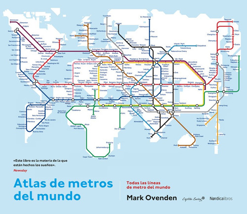 Atlas De Los Metros Del Mundo, Mark Ovenden, Cap. Swing