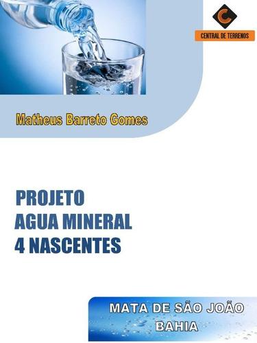 Industrial De Água Mineral Em Dias D'avila - Bahia - Te00430 - 69439352