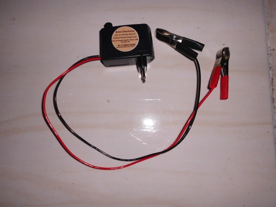 Carregador De Bateria Para Carro/moto/van/caminhão/barco/