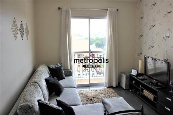 Apartamento À Venda, 63 M² Por R$ 350.000,00 - Santa Maria - São Caetano Do Sul/sp - Ap1536