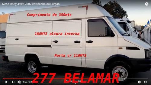Iveco Darly 4912 / 2002 / Furgão Aceito Troca