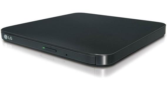 Quemador Dvd Externo LG Rewriter 8x Usb Sp80nb80 Negro