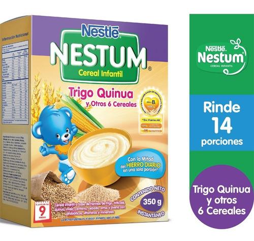 Cereal Infantil Nestum® Trigo Quinua Y Otros 6 Cereales 350g