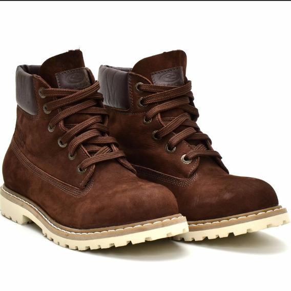 Bota Adventure Em Couro Coturno Sapato Casual Couro Legiti