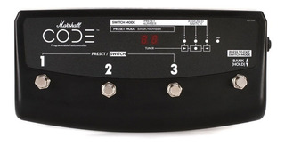 Pedal Footswitch Marshall Pedl-91009 Control Code 4 Botones