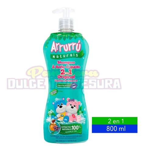 Shampoo Y Baño Liquido Arrurru X800 - mL a $29