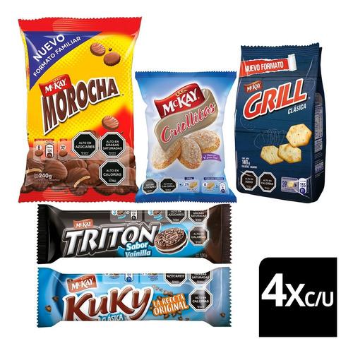 Galletas Nestlé® Mckay® Variadas Pack X20