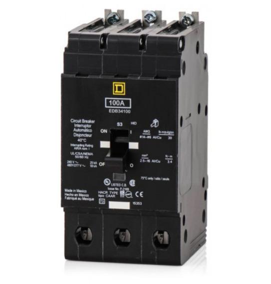 Interruptor Termomagnetico Square D Edb43100