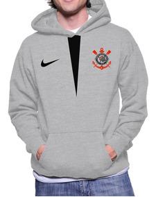 Blusa Moletom Corinthians Futebol Casaco Moleton Frio Luxo