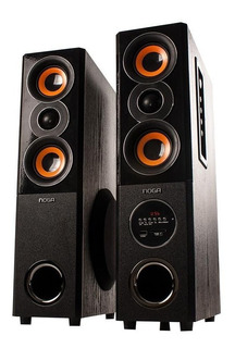 Parlante Bluetooth Columnas Karaoke 220v Rings Noga